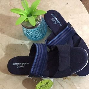 Grasshoppers ortholite sandals
